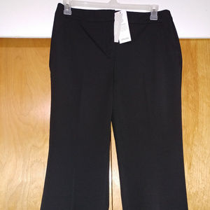 Chico's Pants 1.5S 10S US Size Black NWT
